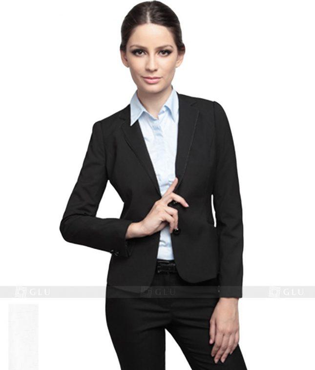 Ao Vest Dong Phuc Cong So GLU 138 áo sơ mi nữ đồng phục công sở