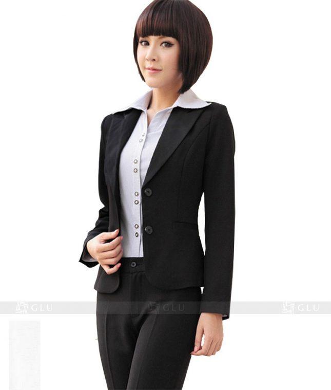 Ao Vest Dong Phuc Cong So GLU 139 áo sơ mi nữ đồng phục công sở