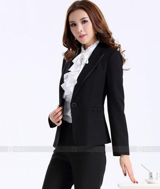 Ao Vest Dong Phuc Cong So GLU 142 áo sơ mi nữ đồng phục công sở