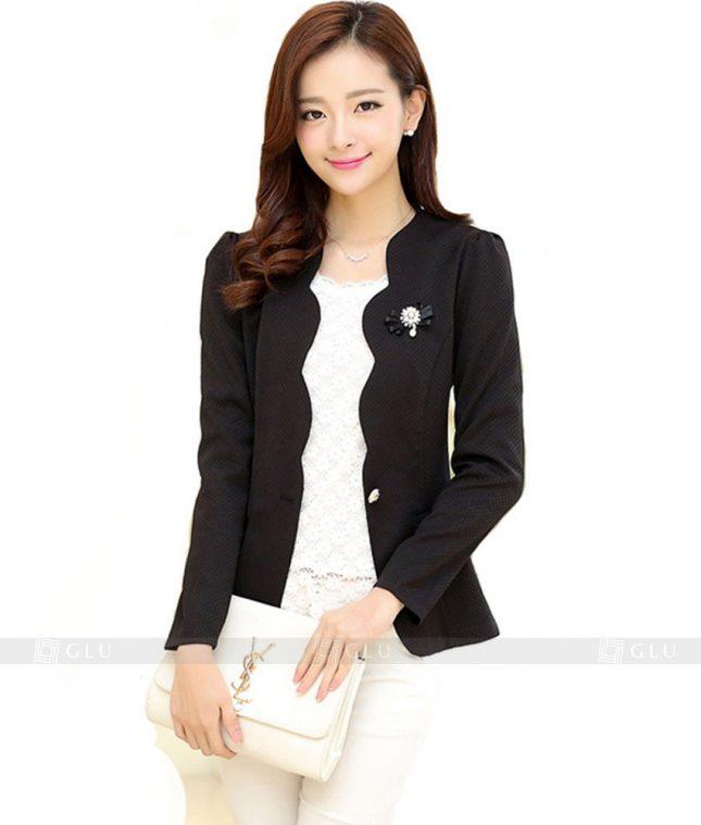 Ao Vest Dong Phuc Cong So GLU 143 áo sơ mi nữ đồng phục công sở