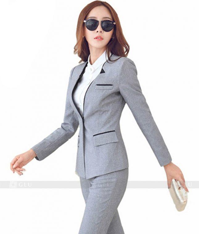 Ao Vest Dong Phuc Cong So GLU 144 áo sơ mi nữ đồng phục công sở