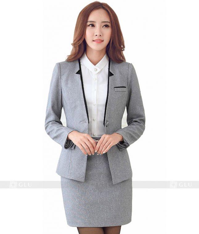 Ao Vest Dong Phuc Cong So GLU 145 áo sơ mi nữ đồng phục công sở