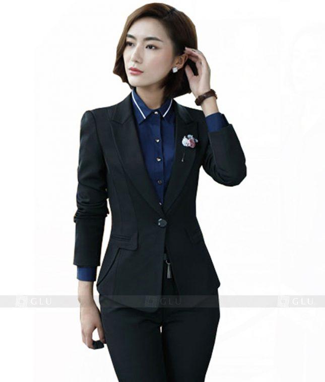 Ao Vest Dong Phuc Cong So GLU 146 áo sơ mi nữ đồng phục công sở