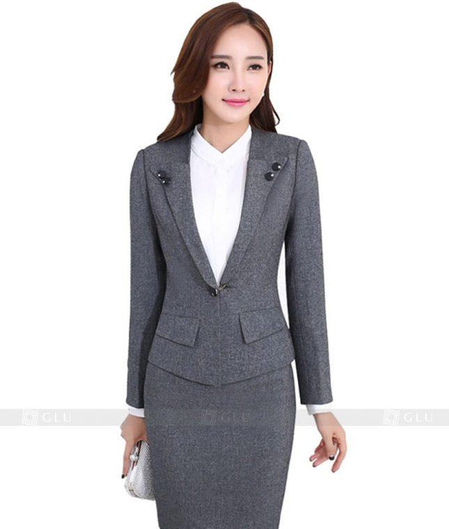 Ao Vest Dong Phuc Cong So GLU 147 áo sơ mi nữ đồng phục công sở