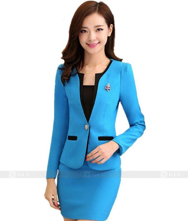 Ao Vest Dong Phuc Cong So GLU 148 áo sơ mi nữ đồng phục công sở