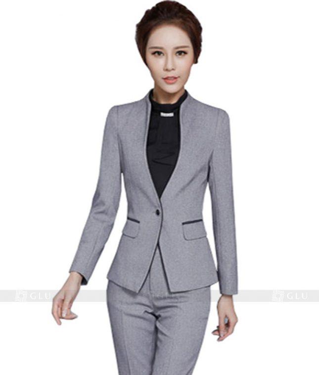 Ao Vest Dong Phuc Cong So GLU 149 áo sơ mi nữ đồng phục công sở