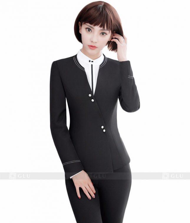 Ao Vest Dong Phuc Cong So GLU 151 áo sơ mi nữ đồng phục công sở