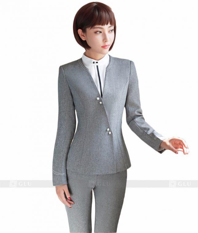 Ao Vest Dong Phuc Cong So GLU 152 áo sơ mi nữ đồng phục công sở