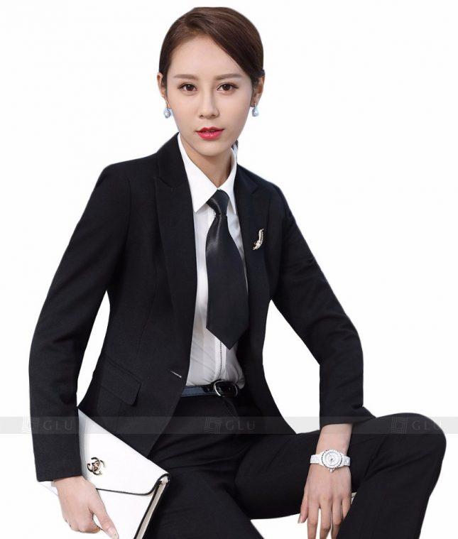 Ao Vest Dong Phuc Cong So GLU 156 áo sơ mi nữ đồng phục công sở