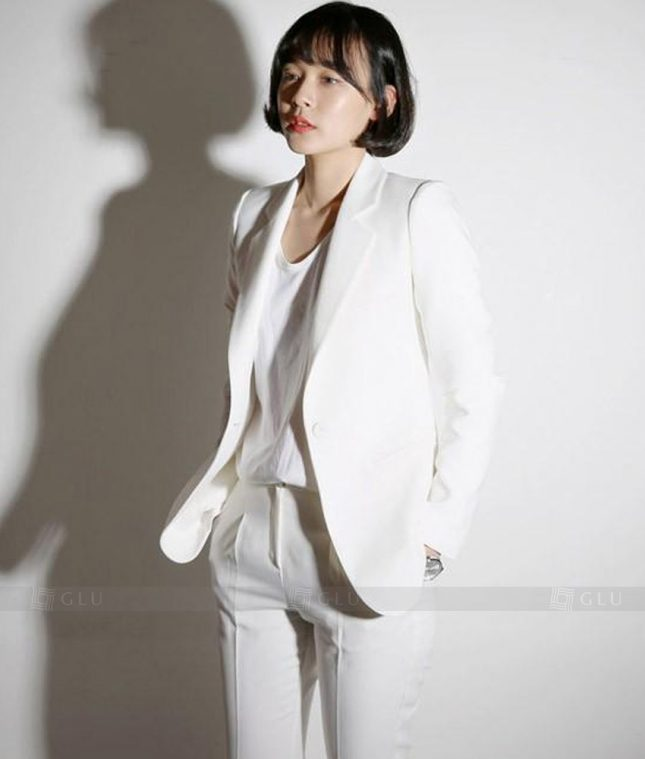 Ao Vest Dong Phuc Cong So GLU 158 áo sơ mi nữ đồng phục công sở