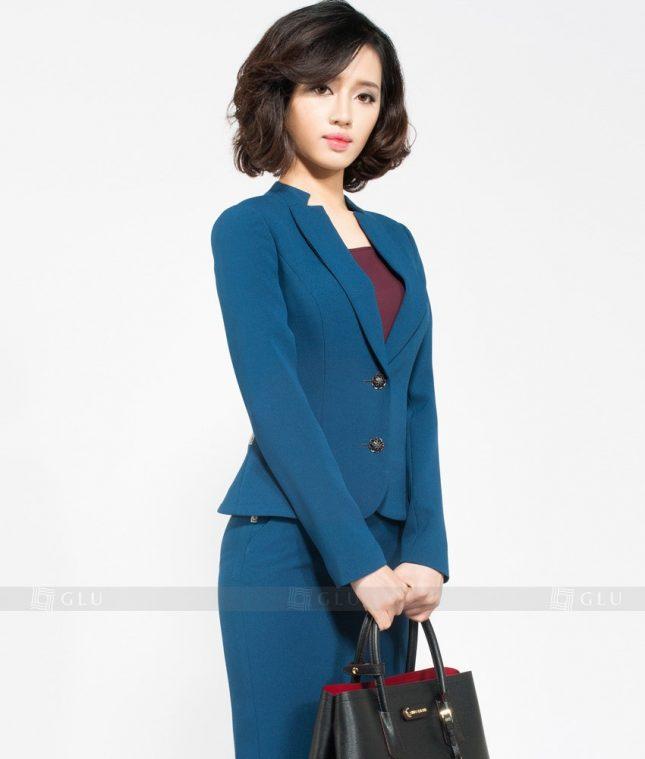 Ao Vest Dong Phuc Cong So GLU 159 áo sơ mi nữ đồng phục công sở