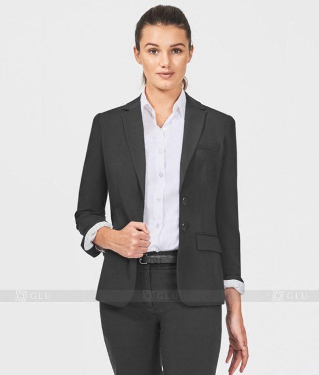 Ao Vest Dong Phuc Cong So GLU 160 áo sơ mi nữ đồng phục công sở
