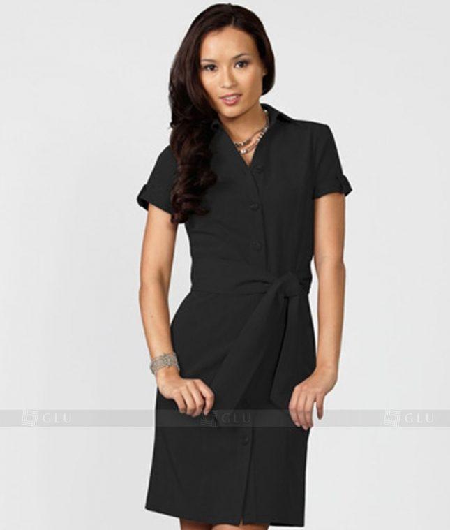 Ao Vest Dong Phuc Cong So GLU 164 áo sơ mi nữ đồng phục công sở
