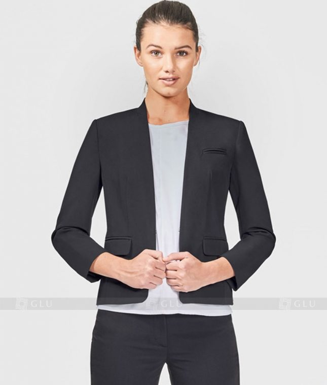 Ao Vest Dong Phuc Cong So GLU 166 áo sơ mi nữ đồng phục công sở