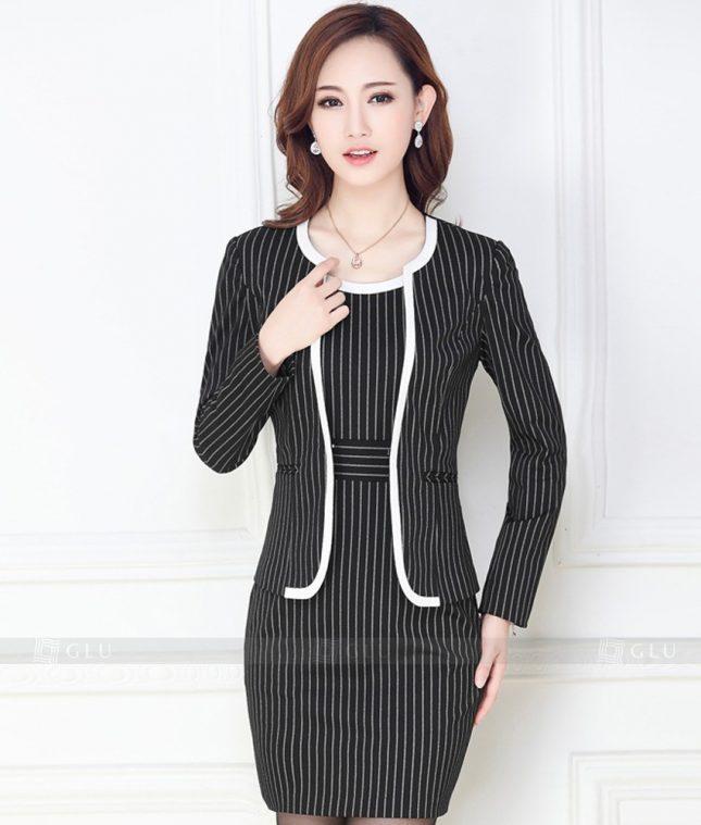 Ao Vest Dong Phuc Cong So GLU 167 áo sơ mi nữ đồng phục công sở