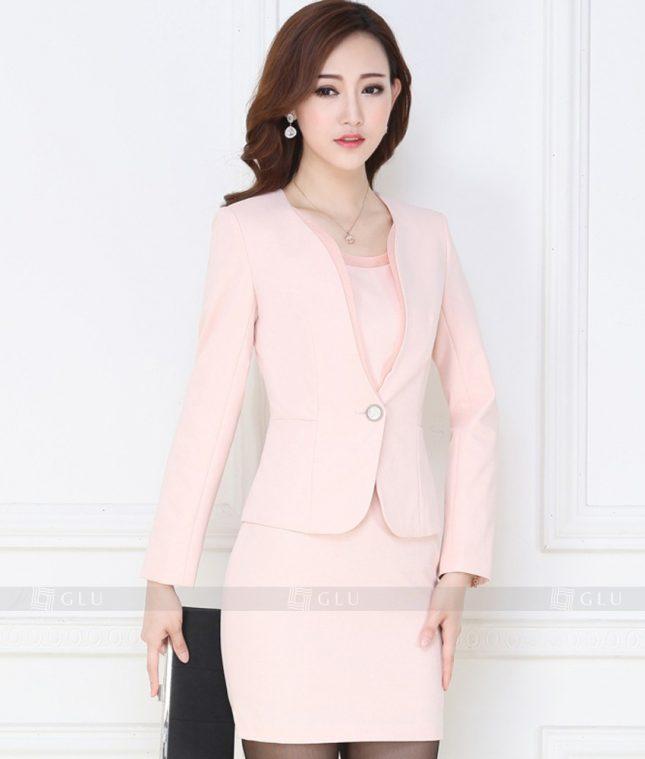 Ao Vest Dong Phuc Cong So GLU 168 áo sơ mi nữ đồng phục công sở