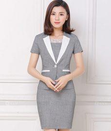Ao Vest Dong Phuc Cong So GLU 169 Đồng Phục Công Sở