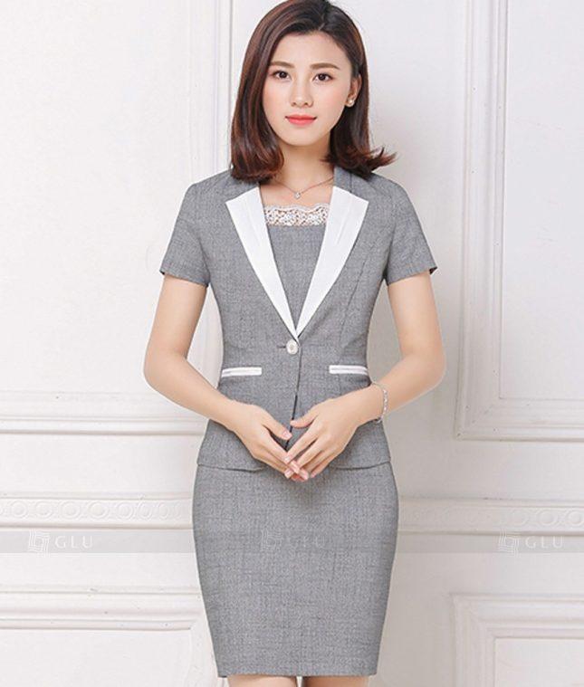 Ao Vest Dong Phuc Cong So GLU 169 áo sơ mi nữ đồng phục công sở