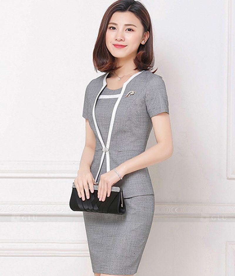 Ao Vest Dong Phuc Cong So GLU 171