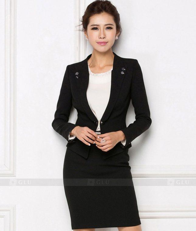 Ao Vest Dong Phuc Cong So GLU 172 áo sơ mi nữ đồng phục công sở
