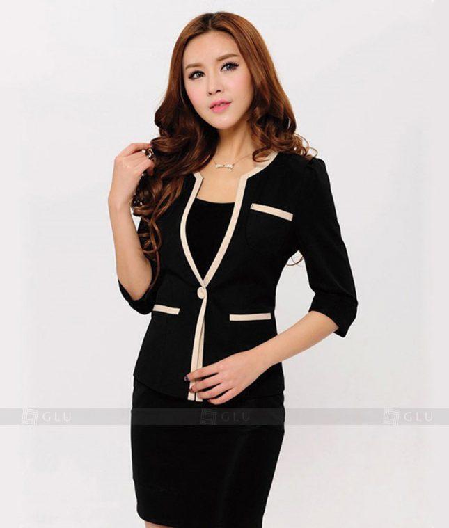 Ao Vest Dong Phuc Cong So GLU 173 áo sơ mi nữ đồng phục công sở