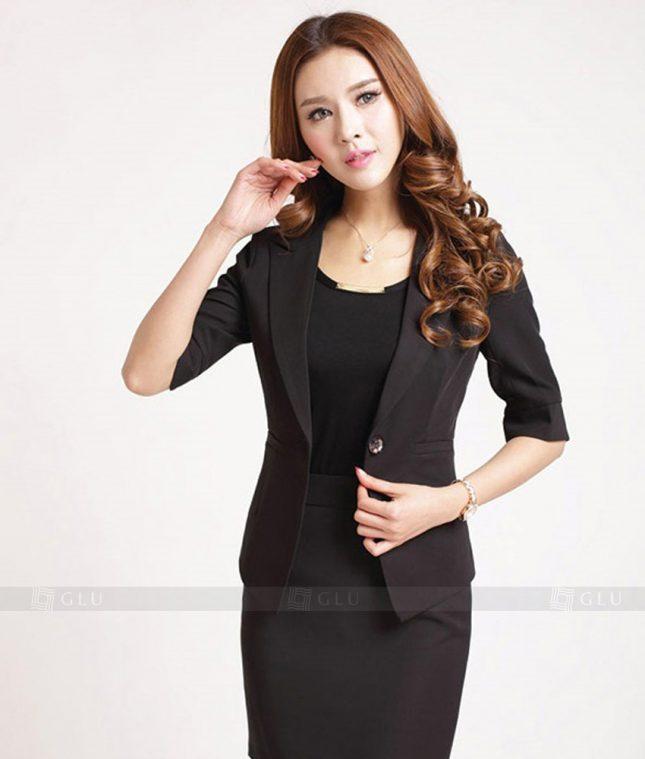 Ao Vest Dong Phuc Cong So GLU 174 áo sơ mi nữ đồng phục công sở