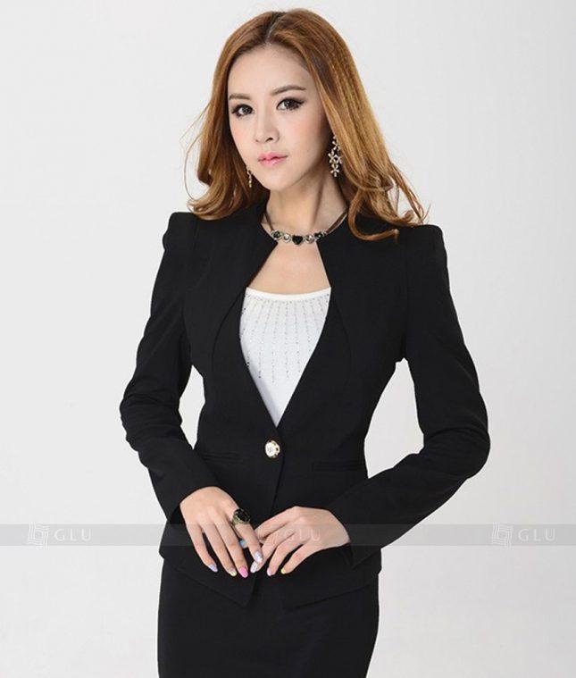 Ao Vest Dong Phuc Cong So GLU 175 áo sơ mi nữ đồng phục công sở