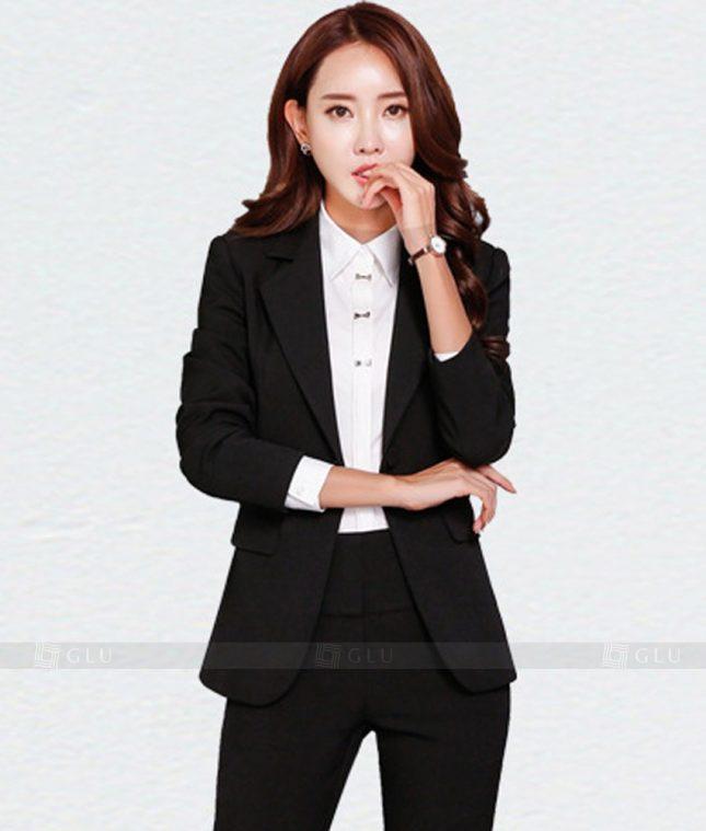 Ao Vest Dong Phuc Cong So GLU 178 áo sơ mi nữ đồng phục công sở