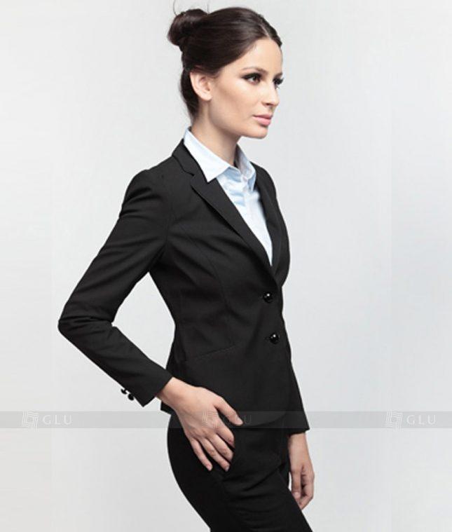 Ao Vest Dong Phuc Cong So GLU 182 áo sơ mi nữ đồng phục công sở