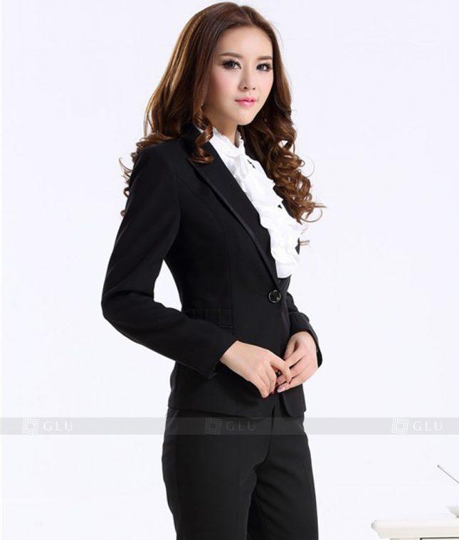Ao Vest Dong Phuc Cong So GLU 183 áo sơ mi nữ đồng phục công sở
