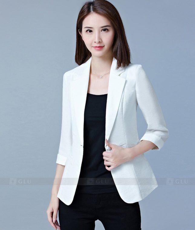 Ao Vest Dong Phuc Cong So GLU 186 áo sơ mi nữ đồng phục công sở