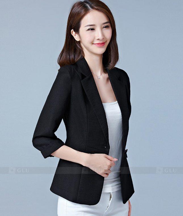 Ao Vest Dong Phuc Cong So GLU 187 áo sơ mi nữ đồng phục công sở