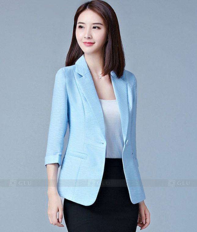 Ao Vest Dong Phuc Cong So GLU 188 áo sơ mi nữ đồng phục công sở