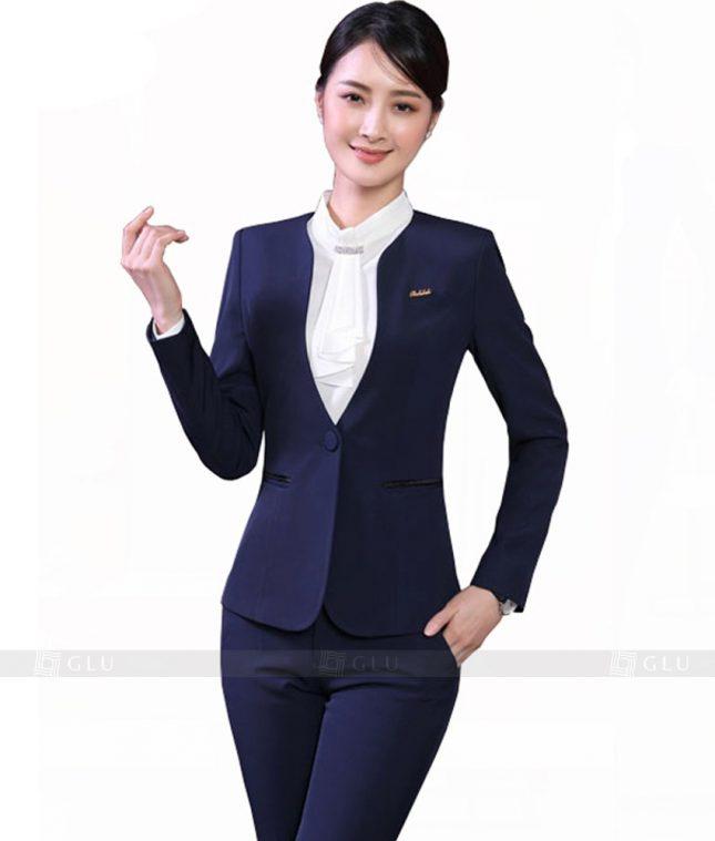 Ao Vest Dong Phuc Cong So GLU 19 đồng phục công sở nam