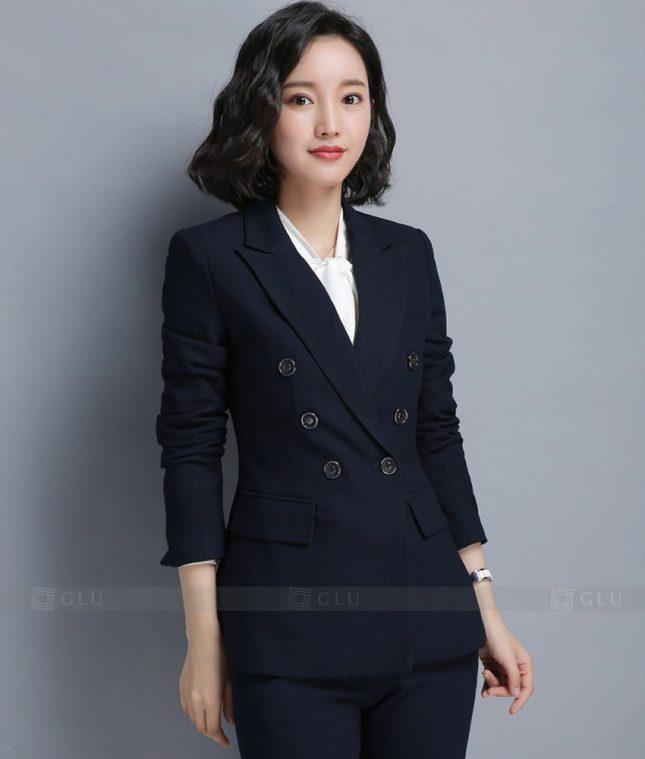 Ao Vest Dong Phuc Cong So GLU 190 áo sơ mi nữ đồng phục công sở