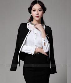 Ao Vest Dong Phuc Cong So GLU 191 Đồng Phục Công Sở