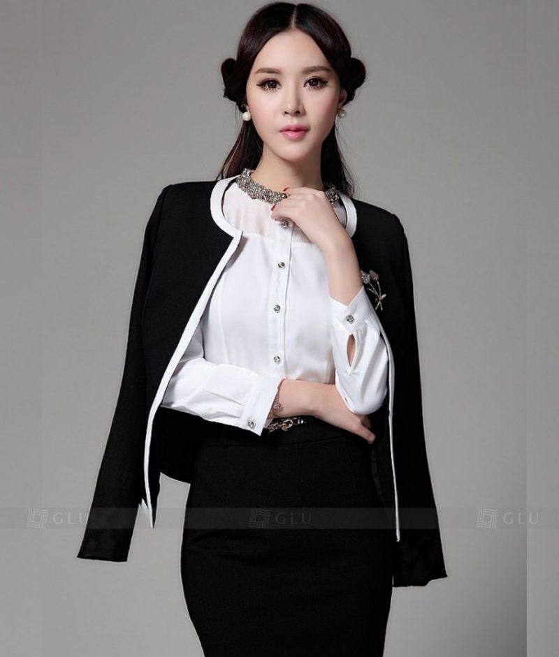 Ao Vest Dong Phuc Cong So GLU 191