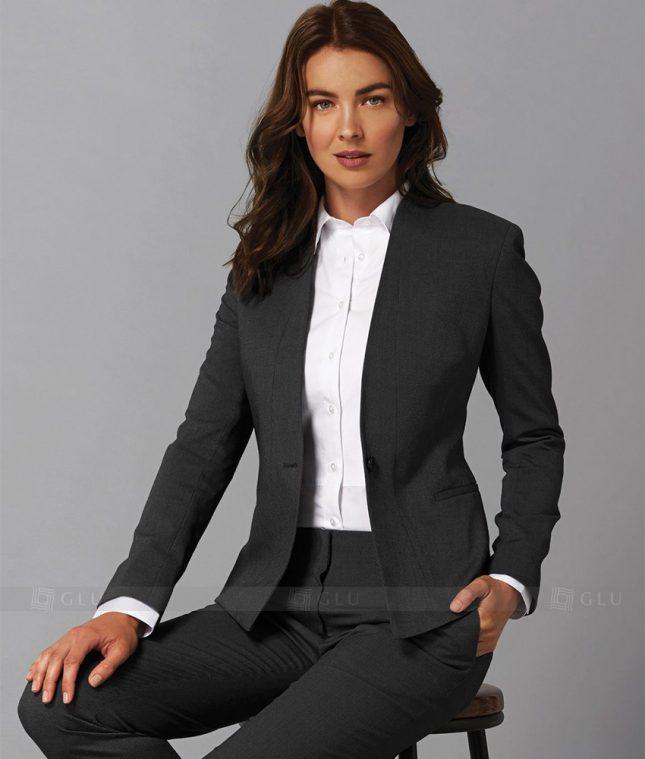 Ao Vest Dong Phuc Cong So GLU 192 áo sơ mi nữ đồng phục công sở