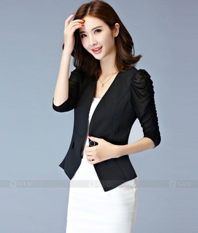 Ao Vest Dong Phuc Cong So GLU 193 áo sơ mi nữ đồng phục công sở