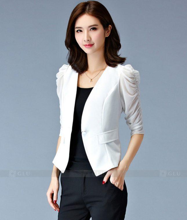 Ao Vest Dong Phuc Cong So GLU 194 áo sơ mi nữ đồng phục công sở