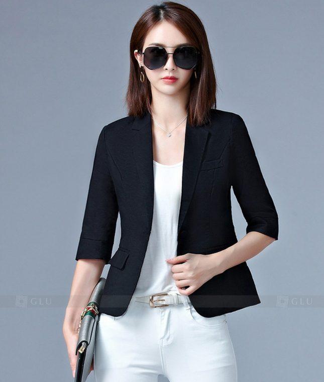 Ao Vest Dong Phuc Cong So GLU 198 áo sơ mi nữ đồng phục công sở