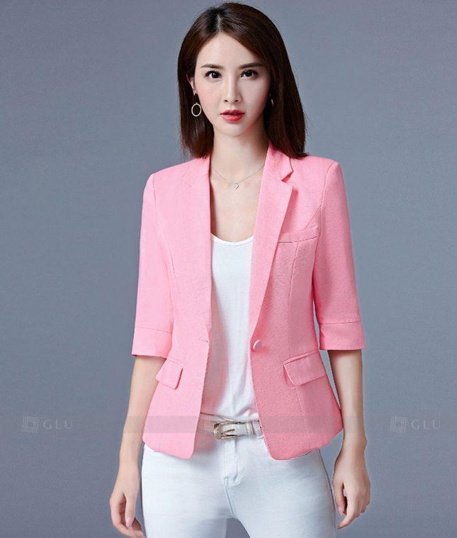 Ao Vest Dong Phuc Cong So GLU 202 áo sơ mi nữ đồng phục công sở