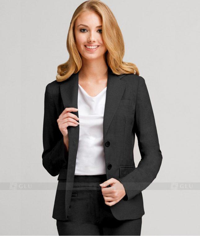 Ao Vest Dong Phuc Cong So GLU 203 áo sơ mi nữ đồng phục công sở