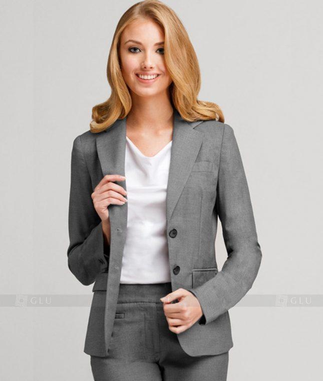 Ao Vest Dong Phuc Cong So GLU 204 áo sơ mi nữ đồng phục công sở