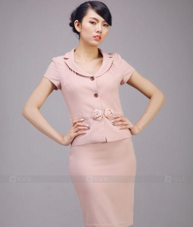 Ao Vest Dong Phuc Cong So GLU 208 áo sơ mi nữ đồng phục công sở