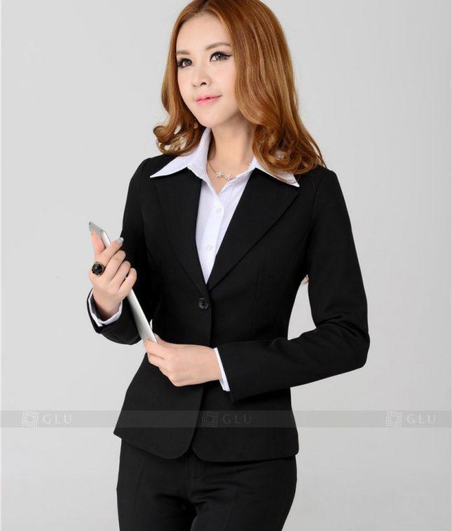 Ao Vest Dong Phuc Cong So GLU 209 áo sơ mi nữ đồng phục công sở