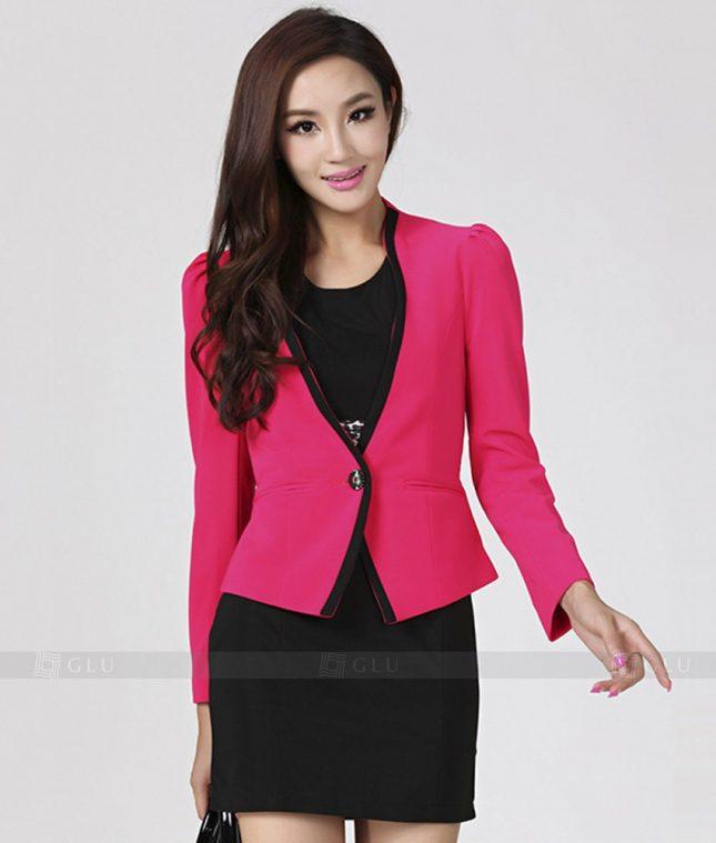 Ao Vest Dong Phuc Cong So GLU 210 áo sơ mi nữ đồng phục công sở