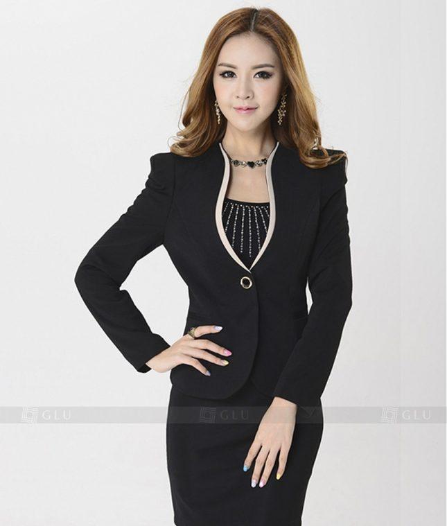 Ao Vest Dong Phuc Cong So GLU 211 áo sơ mi nữ đồng phục công sở