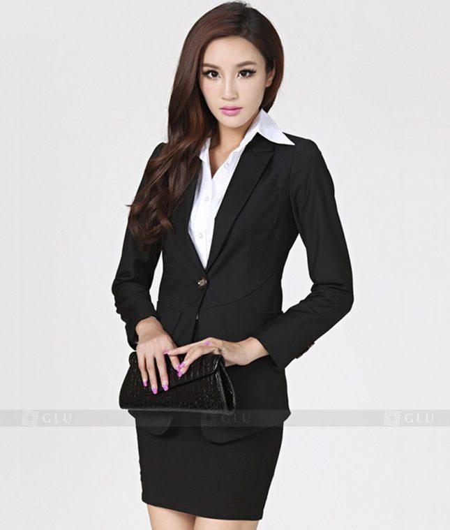 Ao Vest Dong Phuc Cong So GLU 212 áo sơ mi nữ đồng phục công sở