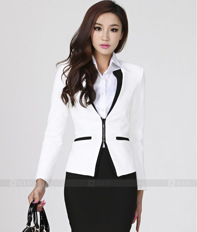 Ao Vest Dong Phuc Cong So GLU 213 áo sơ mi nữ đồng phục công sở